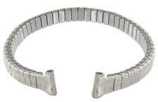 8mm Twist-O-Flex Speidel Ladies Stainless Steel Silver Tone Watch Band 738/02