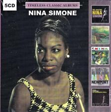 NINA SIMONE - TIMELESS CLASSIC ALBUMS (NEW SEALED 5CD)