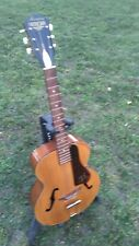 Vintage 1971 Harmony Patrician Archtop Guitar Nice