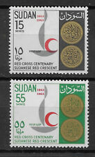 Sudan , 1963 , Red Cross , Set Of 2 Stamps , Perf , Mnh