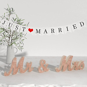 Banner Perfect for Wedding Sweetheart Table Photo Props Large Wooden Letters