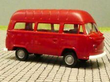 1/87 Brekina VW T2 Kombi Hochdach Economy rot 33811