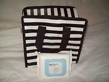 Striped Mini Toiletry Storage Bag
