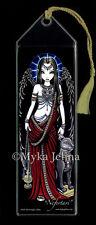 Egyptian - BOOKMARK - Angel - Bastet - Myka Jelina Art - Nefertari