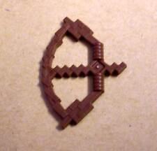 Lego Bogen braun Blocky für zB Minecraft Figuren ( Waffen Arrow Bow Pfeil ) Neu