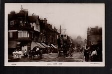 Hull - Carr Lane - real photographic postcard