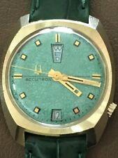 Vintage Bulova Accutron 2182G Men's Swiss Movement Up/Down Watch (N4)
