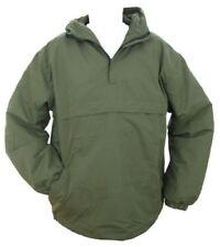 Abrigos y chaquetas de hombre militares verdes de poliéster