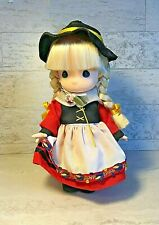 """Precious Moments 1995 Children of the World Germany Gretchen Doll 9"""""""