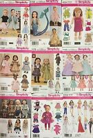 Simplicity Sewing Patterns Dolls Clothes
