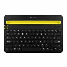 Logitech K480 Universal Bluetooth Keyboard Built-In Device Stand Multi Device