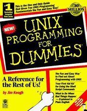 Unix Programming for Dummies, Keogh, James Edward, Good Condition, Book