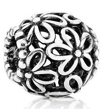 Pandora authentic silver 925 Ale #790890 Wild Flower Walk slide bead charm NWOT