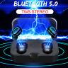 Mini TWS Wireless bluetooth 5.0 Earbuds Stereo Twin Headset Sport Bass Earphones