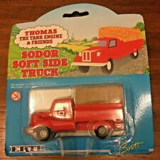 THOMAS THE TANK ENGINE & FRIENDS ERTL SODOR SOFT SIDE TRUCK DIECAST NEW SEALED