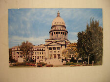 VINTAGE PHOTO POSTCARD THE STATE CAPITOL BUILDING IN BOISE IDAHO UNUSED