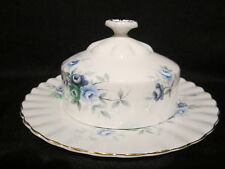 Royal Albert - INSPIRATION BLUE - Covered Butter Dish