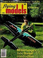 Vintage Flying Models Magazine January 1980 Juno Stunter Construction m324