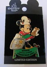 Disney WDW Night Before Christmas Minnie Mouse Pin