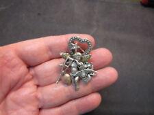 Sterling Silver  Cherub pin