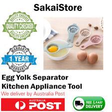 Kitchen Egg White Yolk Separator Holder Divider Seperater Tool Utensil Strainer