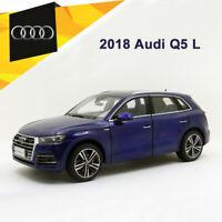 2018 Audi Q5L SUV Blue Diecast Metal Model 1:18 Scale