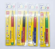 PILOT 2020 Shaker lot 4 Mechanical Pencil sst 0.5mm multiple colors