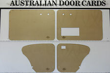 Volkswagen BEETLE 1956 - 1966. Door Cards. Blank Trim Panels. Pocket Optional