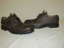 G.H. Bass Men's WaterProof Brogue Oxford Shoe WingTip Andrew Brown Leather