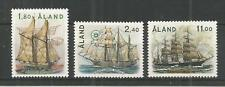ALAND 1988 SAILING SHIPS SG,32-34 U/MINT LOT 882B