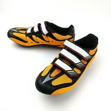 Adidas Girano Road Cycling Shoes Yellow/Orange Black Size 6 US 39 EU