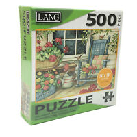 NWT Lang Rocking Chair 500 Piece Puzzle