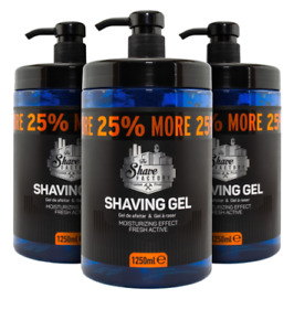 The Shave Factory Shaving Gel | Luxury Lubrication | (3 Pcs Offer) | 1250Ml
