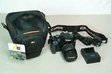 Canon EOS-550D 18MP Digital SLR Camera with 18-55mm Lens, Charger and Case Logic