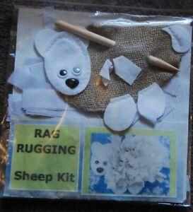 Rag Rugging Sheep Kit