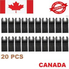 20PCS Oscillating Multi Tool Saw Blades For Fein Bosch Multimaster Makita Dewalt