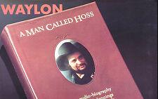 Waylon Jennings Original 1987 A Man Called Hoss Promo Poster