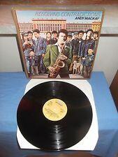 """Andy Mackay """"Resolving Contradictions"""" LP BRONZE NETHERLANDS 1978"""