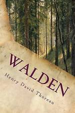 Walden: Annotated by Thoreau, Henry David -Paperback