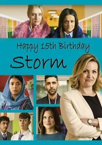 Ackley Bridge Birthday Card- drama, son, daughter, friend