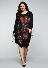 Jerseykleid mit Spitze und Blumenmuster sheego by Joe Browns