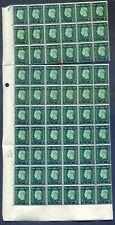 Morocco Agencies French KG 6 1937 ½d green mint bottom half sheet(2019/12/17#15)