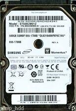 SAMSUNG ST500LM012 500GB, HN-M500MBB/A1,  C8973-G12A-ARIYV, REV. A
