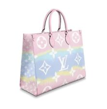 Louis Vuitton Escale OnTheGo GM Tote Bag M45119 Pastel Monogram Auth LV