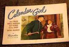 CALENDER GIRL  LOBBY CARD #8