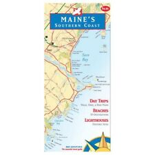 Map Adventures Maine Southern Coast