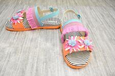 New listing *Sophia Webster Jute Flower Mss18027 Sandal-Little Girl's Size Us:1 / Eu:33-New