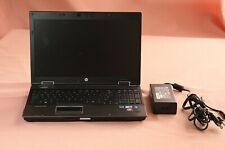 HP EliteBook 8540w Intel Core i5 M560 2.67GHz 4GB Ram No HDD Bios Password