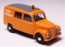 H0 BUSCH Kastenwagen HalbbusTransporter Framo V 901 / 2 Straßenhilfsdienst 51273