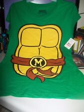 Brand New Teenage Mutant Ninja Turtles Juniors T-Shirt size M (7-9)  With Tags